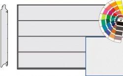 Brama LPU 42, 5000 x 2375, Przetłoczenia L, Silkgrain, kolor do wyboru