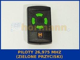 piloty 26,975 MHz (zielone przyciski)
