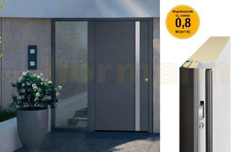 Drzwi aluminiowe ThermoSafe