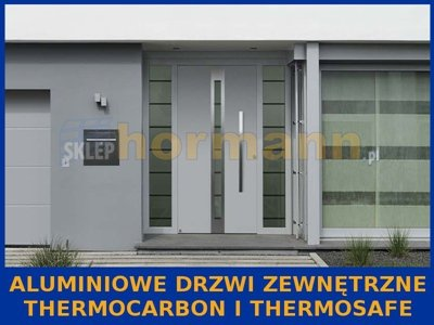 Aluminiowe drzwi zewn. ThermoCarbon i ThermoSafe