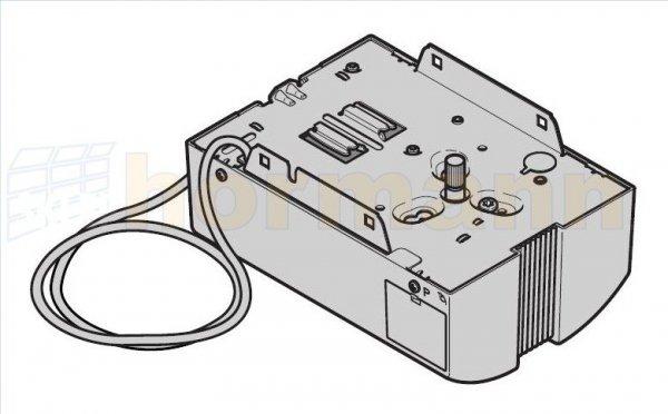 Napęd wymienny EcoStar (typ C) bez materiału do mocowania ze zintegrowanym odbiornikiem (3-częściowa prowadnica)