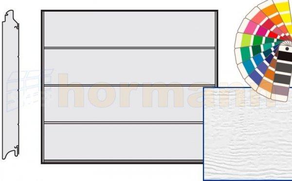 Brama LPU 42, 2440 x 1955, Przetłoczenia L, Woodgrain, kolor do wyboru