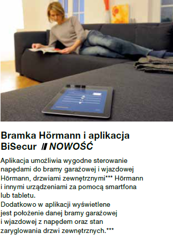 Bramka Hörmann BiSecur Gateway LAN/WLAN