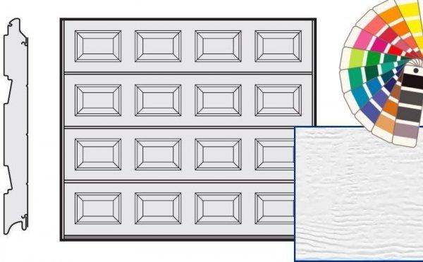 Brama LPU 42, 2500 x 2125, Kasetony S, Woodgrain, kolor do wyboru