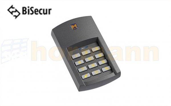 Radiowy (bezprzewodowy) sterownik kodowany FCT 3 BS - do sterowania max 3 napędami z podświetlana klawiaturą