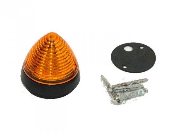 Lampa sygnalizacyjna LED SLK  żółta 1,2 W / 24 V