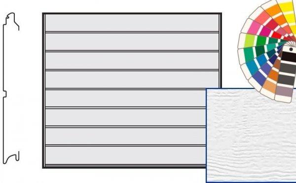Brama LTE, 2375 x 2000, Przetłoczenia M, Woodgrain, kolor do wyboru