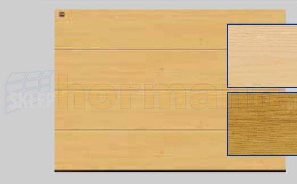 Brama LTH, 5000 x 2125, Przetłoczenia L, Świerk
