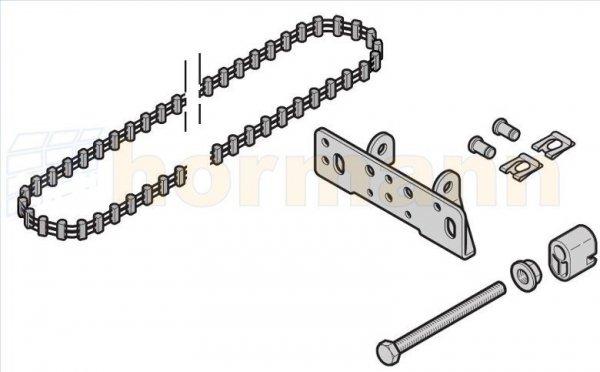 Pas zębaty do prowadnicy (szyny) FS10 / FS2, długa, do SupraMatic E/P, ProMatic / P / Akku (następca artykułu o numerze 438102)