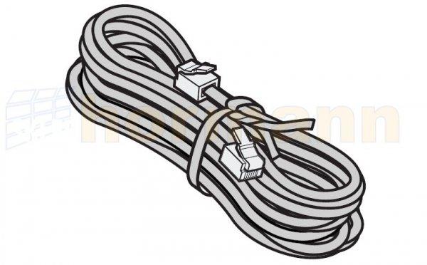 Przewód systemowy, 6-żyłowy, długość przewodu 10000 mm