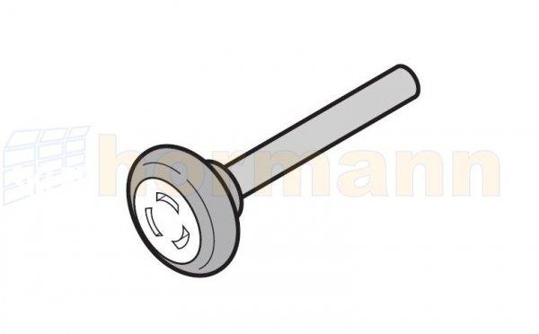 Rolka bieżna dolna, z osią 110 mm, prowadzenie Z, BZ