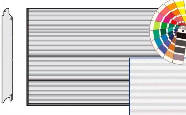 Brama LPU 42, 5000 x 2250, Przetłoczenia L, Micrograin, kolor do wyboru