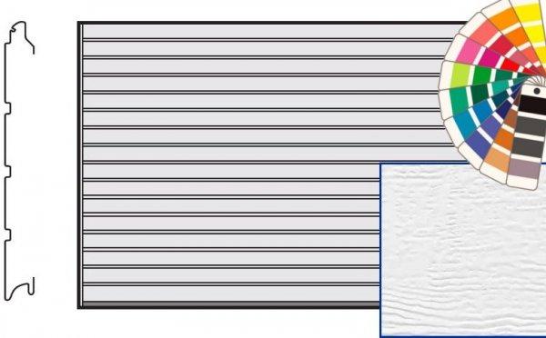Brama LTE, 5000 x 2250, Przetłoczenia S, Woodgrain, kolor do wyboru