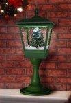 Lampa stołowa bożonarodzeniowa z choinką