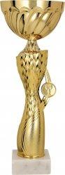 Puchar metalowy złoty
