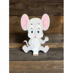 Tabliczka Myszka mała różowa
