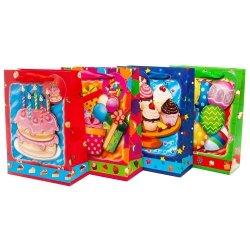 Torebka prezentowa 3D dziecięca, urodziny, mix wzorów