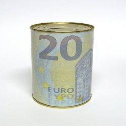 SKARBONKA METALOWA 20 EURO