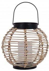 LAMPION WIKLINOWY MAŁY 21x21x22,5cm