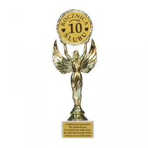 Statuetka Victoria '10 rocznica ślubu'