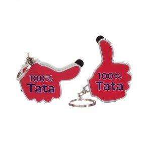 Brelok latarka z napisem 100% Tata