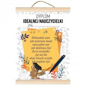Dyplom Idealnej Nauczycielki dla...
