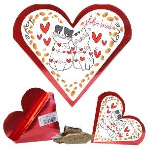 Serce słodkie krówki Love