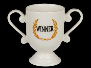 Kubek porcelanowy Jumbo Winner