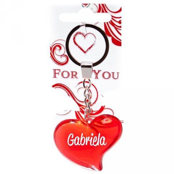 Zawieszka brelok czerwony Gabriela