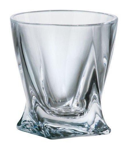 Komplet 6 szklanek Quadro do whisky o pojemności 340ml.
