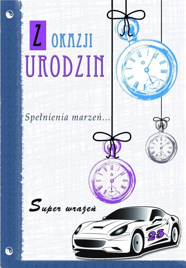 Kartka Z Okazji Urodzin  Spełnienia Marzeń... / samochód/