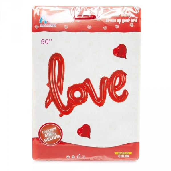 Napis dmuchany LOVE, 50 cm