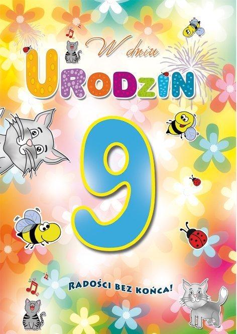 Kartka W dniu urodzin 9