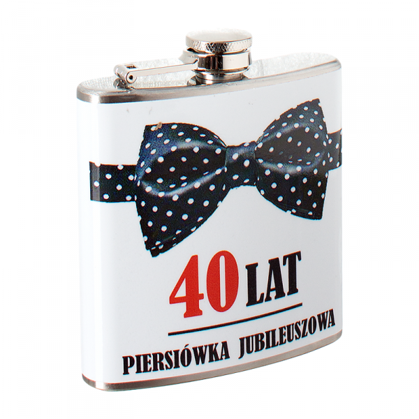 Piersiówka jubileuszowa '40 lat'