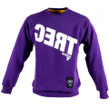 TREC Sweat Shirt 006 (CERT) - Bluza Klasyk Purple