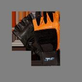 RĘKAWICE PROFI BLACK/BROWN Trwałe rękawice treningowe ze skóry.