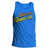 Trec Wear Tank Top 005 Suns - Niebieski