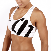 WOMEN'S TREC WEAR - SPORT BRA 002/White