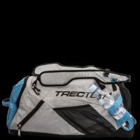 TREC TEAM - TRAINING BAG 006/GRAY-BLUE - Torba treningowa Szaro/Niebieska