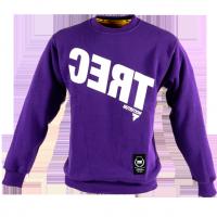 TREC Sweat Shirt 006 (CERT) - Bluza Klasyk Purple