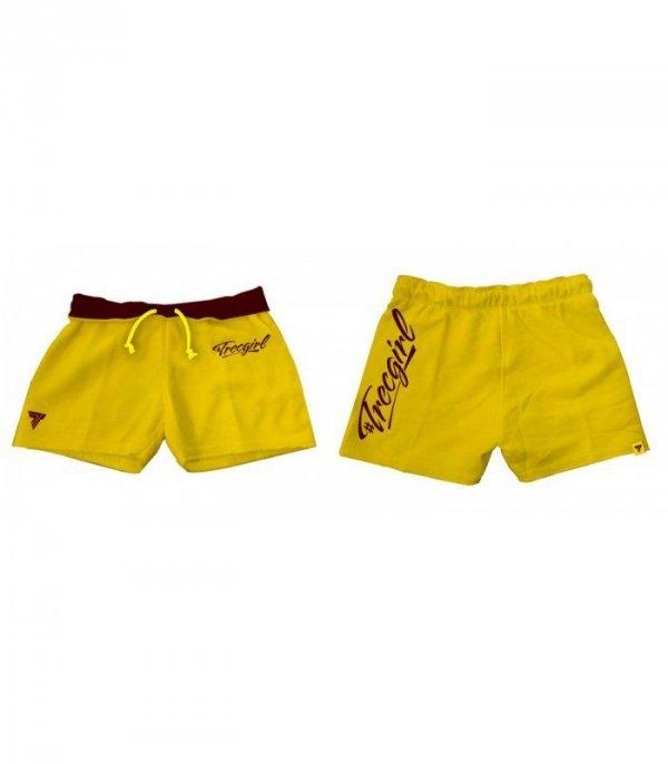 Trec Wear SHORT PANTS TRECGIRL 01 YELLOW