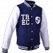 KURTKA MEN'S TREC WEAR - WHITE LOGO TREC - JACKET 002/NAVY BLUE-WHITE