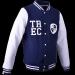 KURTKA MEN'S TREC WEAR - WHITE LOGO TREC - JACKET 002/NAVY BLUE-WHITE